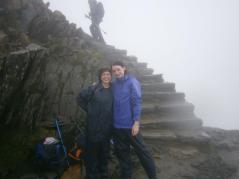 Kate and Tanya. National Three Peaks