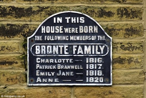 The Bronte Birthplace, Thornton, Bradford.