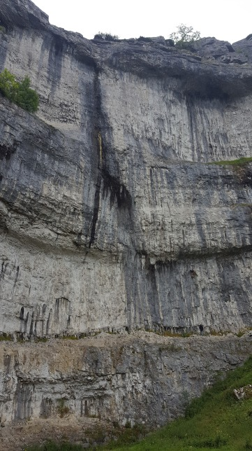 Malham Cove from the bottom