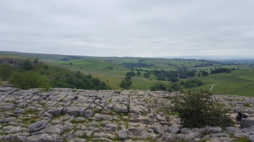 View of Malham and beyond