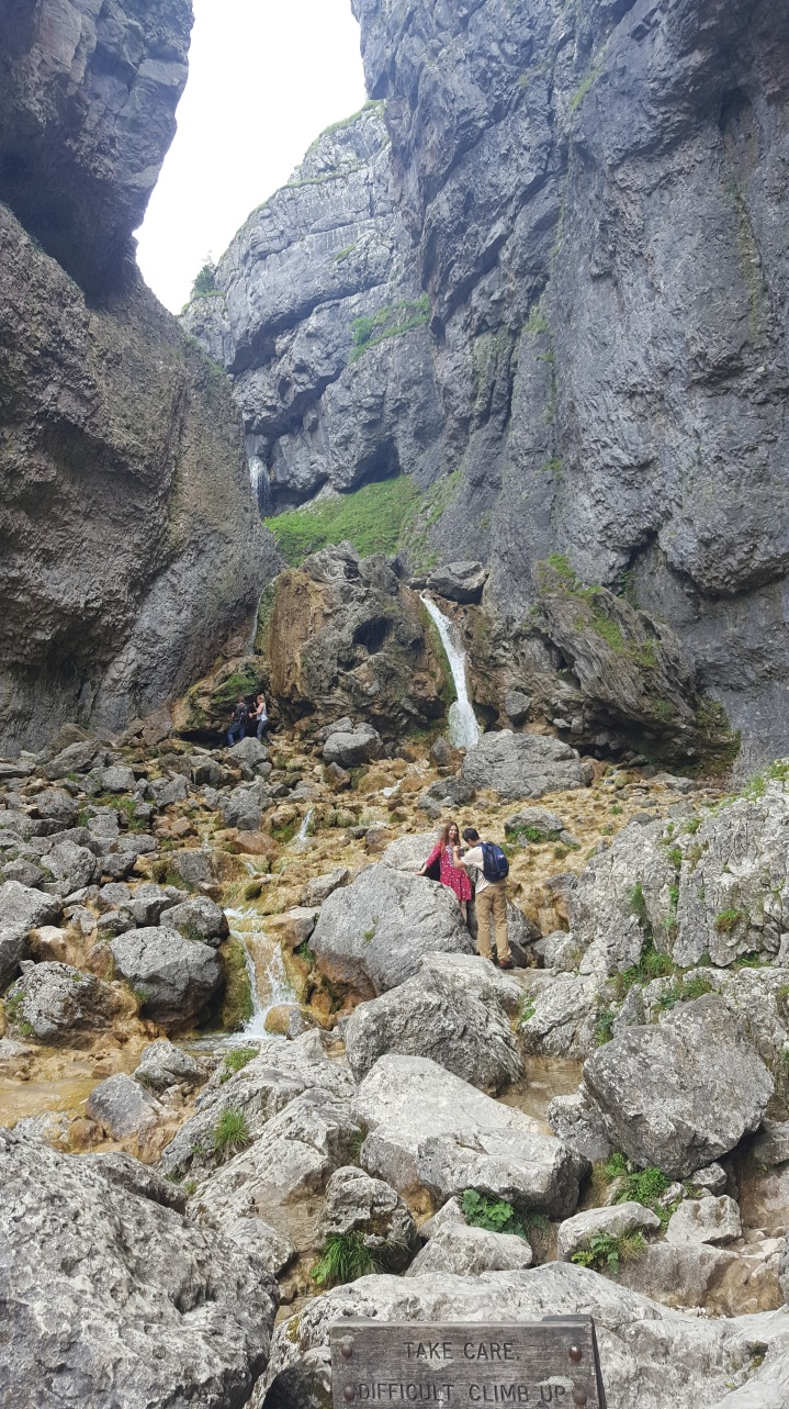 Gordale Scar and waterfalls
