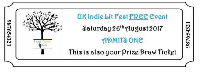 UK Idie Lit Fest ticket