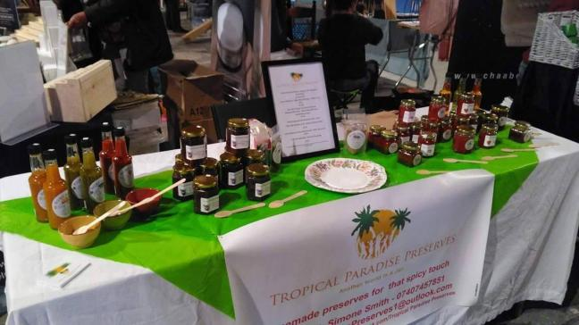 Event display for Tropical Paradise Preserves