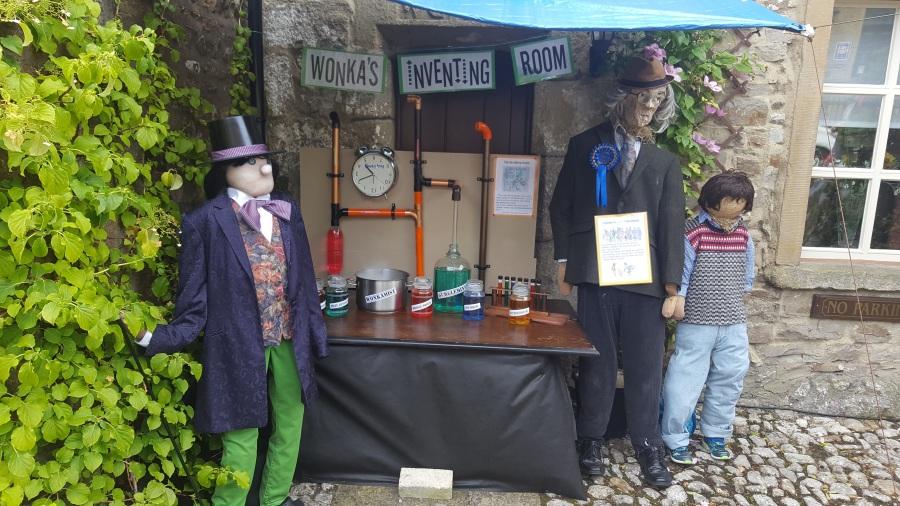 Kettlewell Scarecrow Festival2017