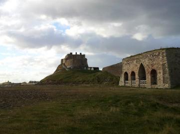 Lindisfarne Castle and Lime Kilns